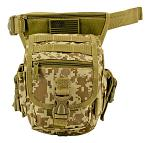 Tactical Hip Bag - Desert Digital Camo