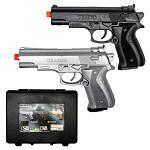 Twin Pack Spring Powered Airsoft Pistols - UKArms