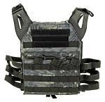 Junior Padded Tactical Vest - Black Mamba