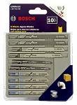10 - pc. Bosch U-Shank Jigsaw Blades