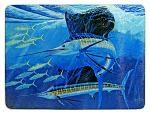 Guy Harvey Sailfish Glass Cutting Board
