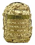 Military Molle Pack - Desert Digital Camo
