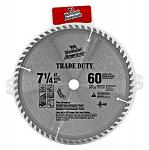 "7.25"" Vermont American Circular Saw Blade with 60 Teeth"