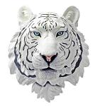 White Tiger Head Hanging Statue