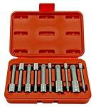 "10-pc. 4"" Long Spline Bit Socket Set"