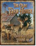 JQ Olde Farmhouse Tin Sign
