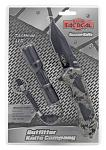 """4.5"""" Spring Assist Folding Knife with Tactical Flashlight - Grey Camo"""