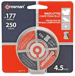 250-pc. Crosman Wadcutter High Grade 4.5mm .177 Caliber Pellets
