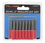 "25-pc. 2"" Phillips Bit Set"