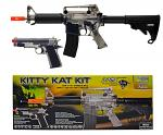 Panther Arms Kitty Kat AEG Electric Airsoft Rifle Kit - Clear Smoke