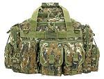 The Humvee Duffle Bag - Green Digital Camo