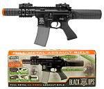 Full Metal Black Ops M4 Cobra Assault Rifle - Black