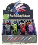 12-pc. Spring Assist Folding Knife Set