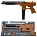 Project Z Inhuman KG-9 Spring Airsoft Gun - Bronze