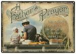 A Father's Prayer Tin Sign