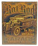 Rat Rod Garage Tin Sign