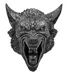 Rage of Lycans Hanging Wolf Head