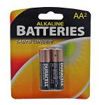 2-pc. AA Duracell Battery