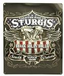 Sturgis Black Hills Embossed Tin Sign