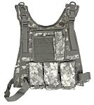 Molle High Speed Plate Carrier Tactical Vest With Pouches - ACU
