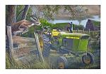 "24"" x 16"" LED Canvas Wall Art - Abandoned Farm"
