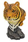 Zechariah Orange Tiger Statue