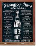 Hangover Cures Tin Sign