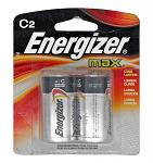 2-pc. Energizer Max C-Size Battery Pack