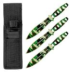 3-pc. Throwing Knife Set - Camo