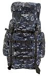 The Washington Hiking Pack - Blue Digital Camo