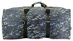 "36"" Cargo Duffle Bag - Blue Digital Camo"