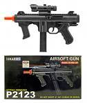 P2123 Spring Powered Airsoft Gun - Black