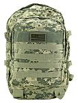 Military Molle Pack - Digital Camo