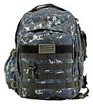 Molle Readiness Pack - Blue Digital Camo