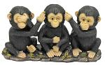 No Evil Monkeys Figurine