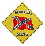 Rebel Xing Tin Sign