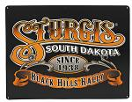 Sturgis Black Hills Rally Tin Sign