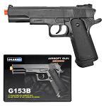 G153B Spring Airsoft Pistol - Black