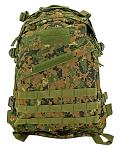 Tactical Patrol Pack - Digital Woodland Camo