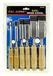 6 - pc. Wood Chisel Set