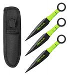 3-pc. Zombie Killer Throwing Knives