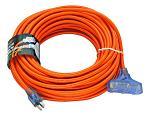 100' Extension Cord - Orange