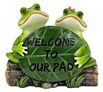 Hoppy to See You - Frog Welcome Statue