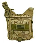 Tactical Sling Range Bag - Desert Digital Camo