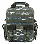 Tactical Traveler - Blue Digital Camo