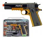 Project Z Spring Powered Airsoft Handgun
