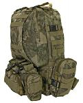 Large Assault Rucksack - Reticulated Camo