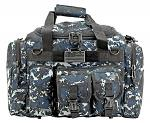 A-10 Duffle Bag - Blue Digital Camo