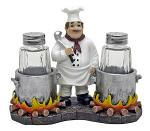 Spice Du Jour Chef Salt & Pepper Shakers