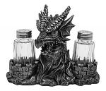 Grillin' Spice Dragon Salt & Pepper Shakers
